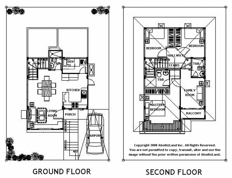 50 square meter house floor plan - Small housessquare meters ...
