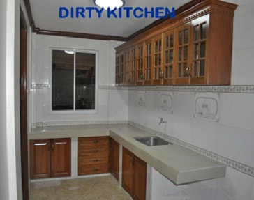 The Gallery For Dirty Kitchen Design